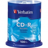 CD-R Verbatim Spindl 100 ks