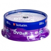 DVD Verbatim  Cake Box 25 ks